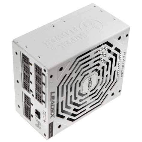 flower leadex 80 plus platinum power supply white 750 watt nesf 051 from wcuk