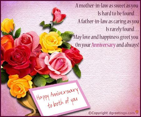 Wedding Anniversary Greetings For Parents by Happy Anniversary Greetings For Parents In Nicewishes