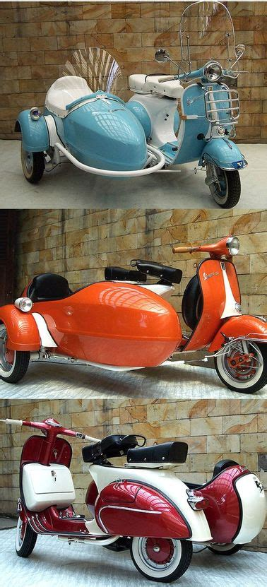 vespa  sidecar  cool   grand voyage italy