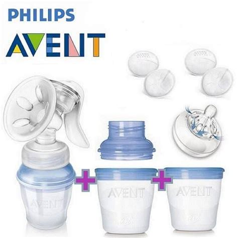Blender Bayi Avent jual avent manual breastpump comfort with storage