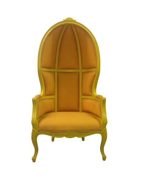 french canopy chair french canopy chair yellow chairs hood pinterest