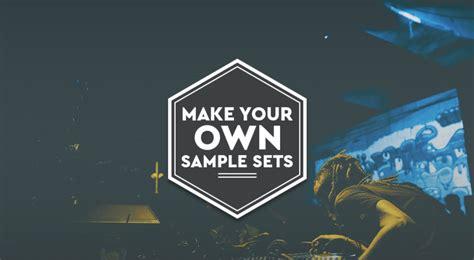 Create Your Own Custom Set - make your own sle sets digital dj tips