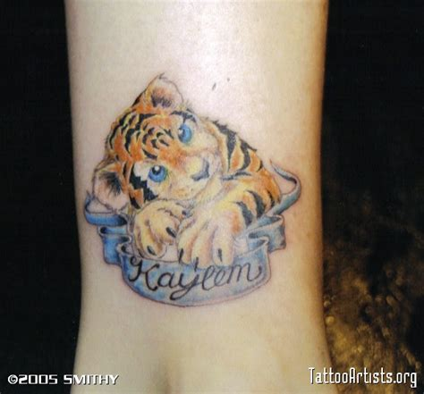 baby tiger tattoo baby tiger cubs tattoos tiger cub baby tiger tattoos