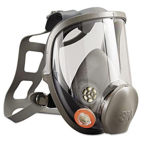 3m 6000 series full face reusable respirator earshot