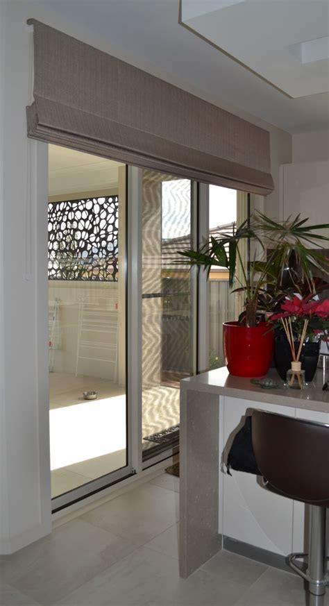 Shades For Sliding Patio Doors Blinds Can Be Made Up To 3mtrs Wide With A Headrail System Lounge Dining