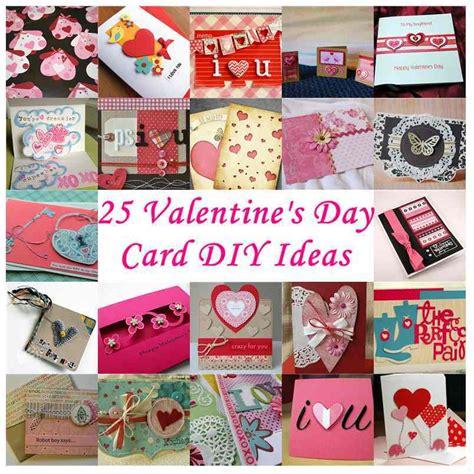 creative card ideas for valentines day 25 s day card diy ideas