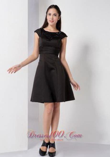 a line black dress