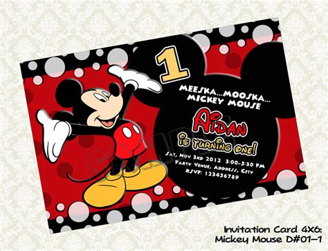 templates for mickey mouse invitations mickey mouse party invitations theruntime com