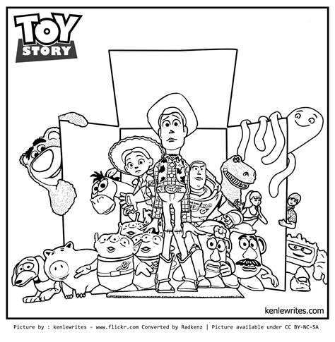 story coloring pages radkenz artworks gallery story 3 coloring page out
