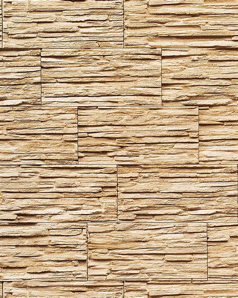 stone natural textured wallcovering wallpaper wall vinyl