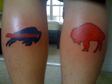 buffalo bills body art and tattoos buffalo rumblings