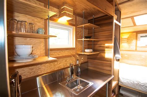 tiny house closet an affordable tiny house design to take off the grid or into the back yard