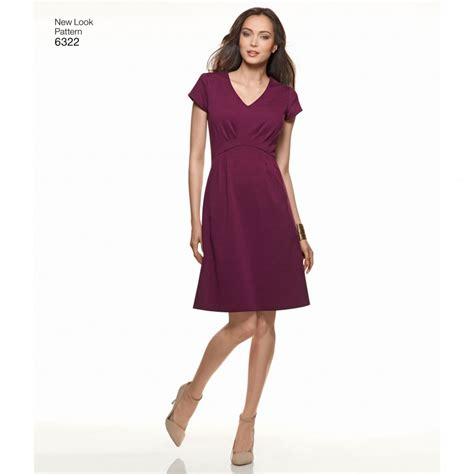 pattern review new look 6322 new look 6322 women s dress with bodice and skirt