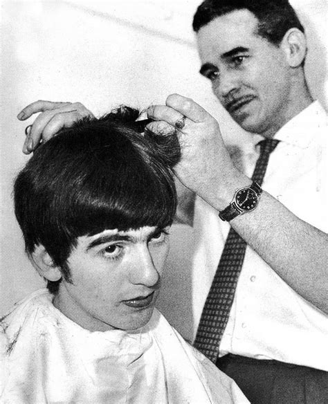 beatles style haircuts 166 best george harrison images on pinterest the