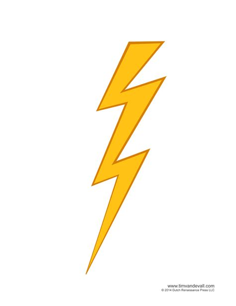 Lightning Bolt Picture Free Coloring Pages Of Flash Lightning Bolt
