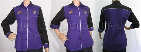 pattern baju korporat f1 shirt smk baram sarawak creeper design