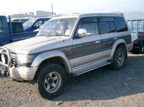 how does cars work 1993 mitsubishi pajero head up display 1993 mitsubishi pajero pictures