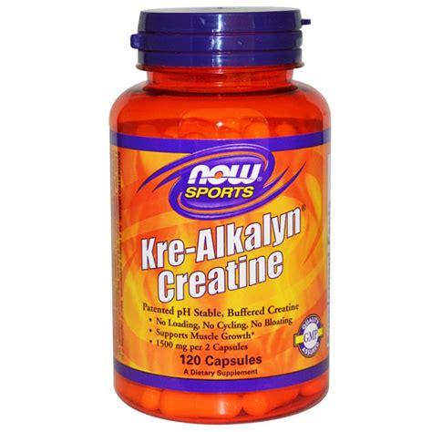 Kre Alkalyn 120 Caps kre alkalyn creatine 120 caps now foods boteprote