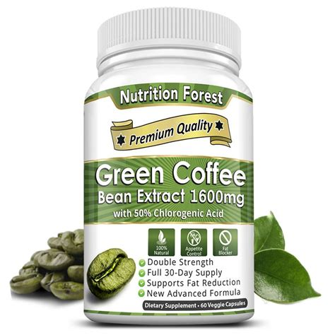 Green Coffee 165 Gram Hemat Sehat green coffee bean extract nutrition forest