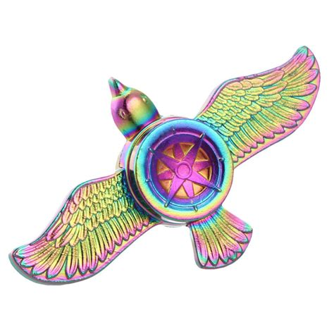 Fidget Spiner Finger Spinner Toys Gangsing rainbow fly eagle fidget spinner metal finger spinner spinner for autism spinners