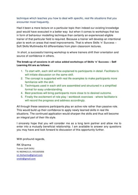 layout of a formal letter skillsworkshop sle invitation letter training workshop gallery