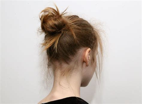 styling products for an american hair bun top 25 messy bun hairstyles unique and easy messy buns