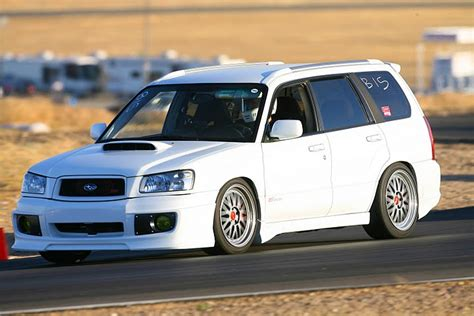 subaru bbs white subaru forester on bbs lm on the track bbs rs zone