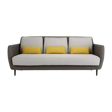 sofa habitat ella sofas 3 seat sofa mouse grey fabric habitat