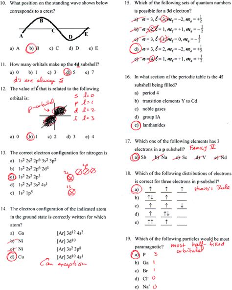 chapter 6 review chemical bonding section 2 answers ap chemistry fall 2014 unit 5 atomic structure