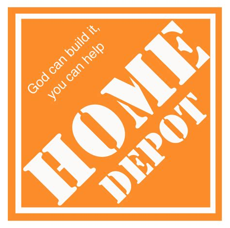 home depot logo clip pictures to pin on