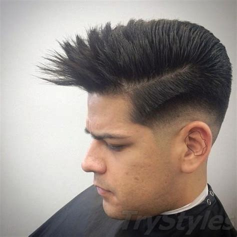 Faux Mohawk Hairstyles by 180 Mohawk Fohawk Faux Hawk Haircuts And Hairstyles