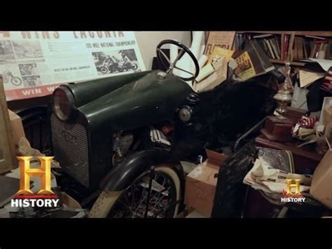 american pickers: the rare merz cycle car | history youtube