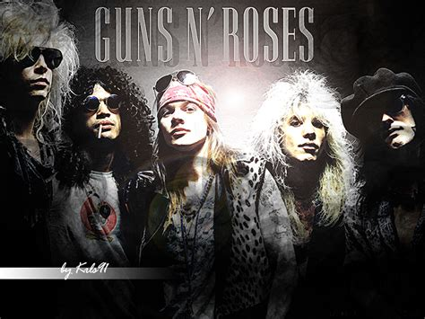 Guns N Roses by Guns N Roses The Original Not The Current Crapper