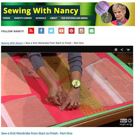 how to start knitting nancy tv host nancy zieman shares 6 proven knit garment sewing