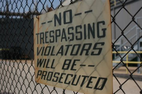 write  effective  trespassing letter