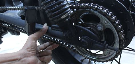 Rantai Setelan akibat salah setel rantai malah bikin motor rusak gilamotor