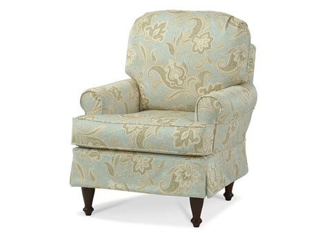 Accent Chair Covers by Custom Slipcovered Accent Chair Centerville Slipcover
