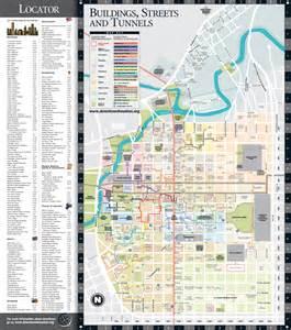 map of downtown houston map downtown houston