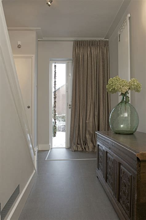 Curtains For Drafty Windows Curtain Idea 22 Keep The Warm Or Cool Air In The House By Decorating The Front Door With