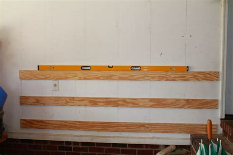 The 2 Car Garage Shop The French Cleat Wall System