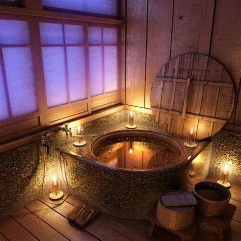 japanese bathroom ideas furo traditional japanese wooden bath culture japan