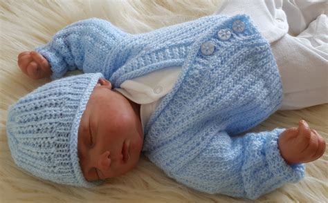 baby knitting patters baby knitting pattern boys or reborn dolls sweater set