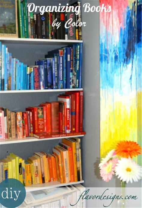 organization books how to organize books flavor designs