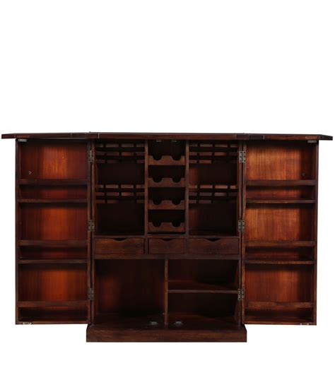 Buy Bar Cabinets Buy Reno Bar Cabinet In Provincial Teak Finish By