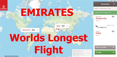 emirates new routes emirates new route dubai to panama city will be longest