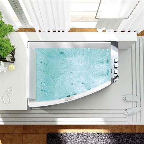 moteur baignoire balneo baignoire baln 233 o elba curva 170x120 cm