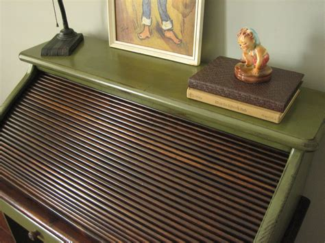 Best Paint For A Desk by European Paint Finishes Vintage Roll Top Desk