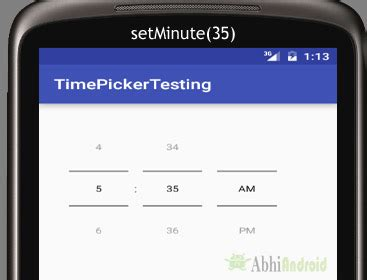 timepicker android timepicker tutorial with exle in android studio