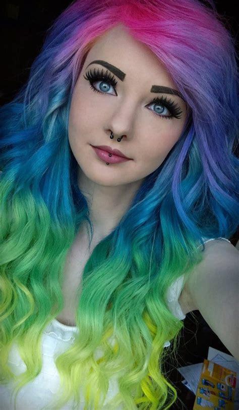unique hair color 80 unique hair color ideas to try