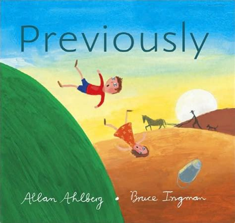 libro previously previously by allan ahlberg bruce ingman paperback barnes noble 174